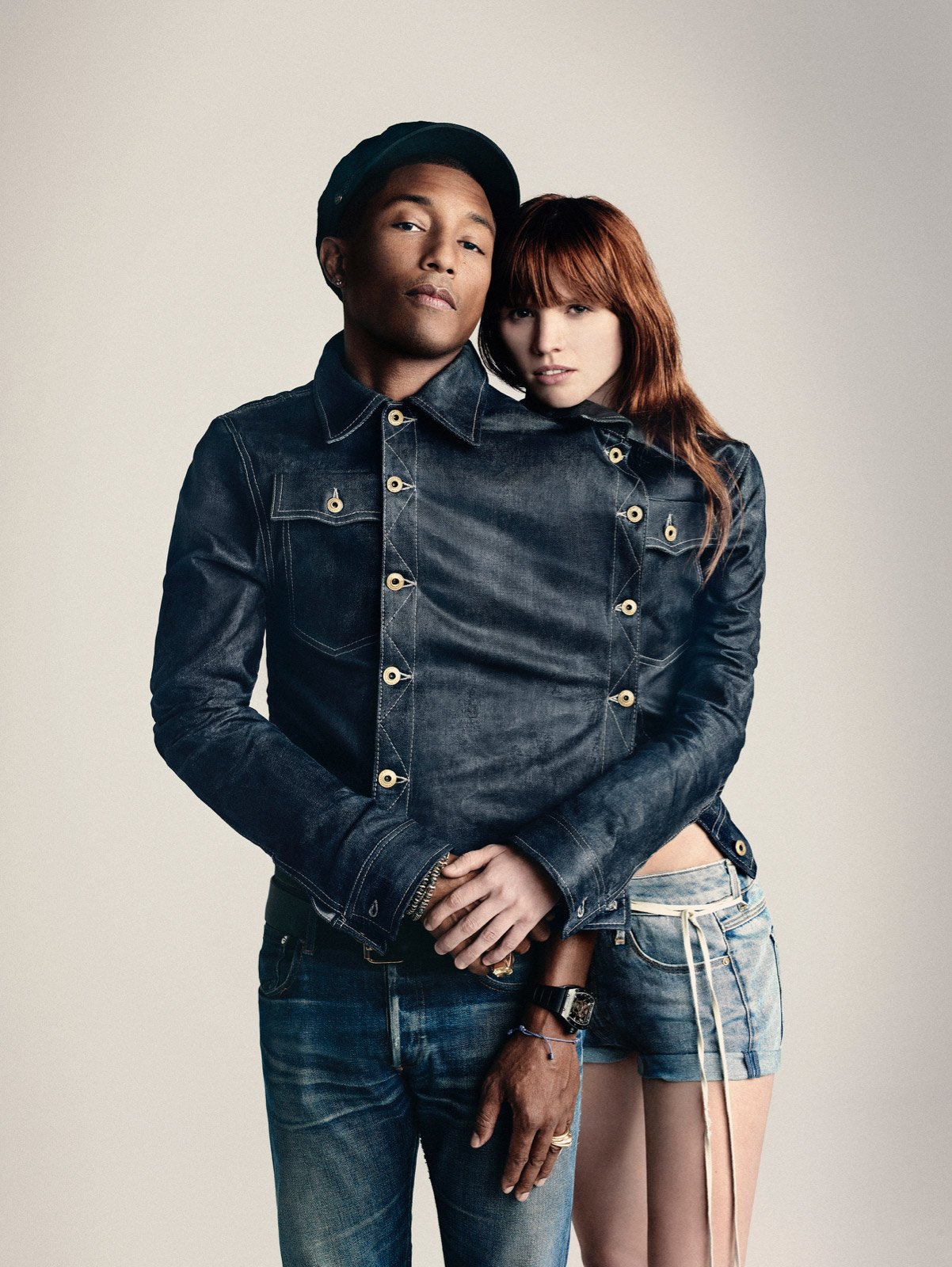 official photos a19a8 5ed02 PHARRELL WILLIAMS NEW CO-OWNER OF G-STAR RAW