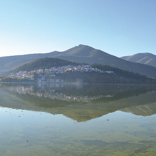 A day in Kastoria Lake