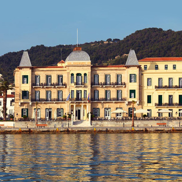 A day at Poseidonion Grand Hotel, Spetses