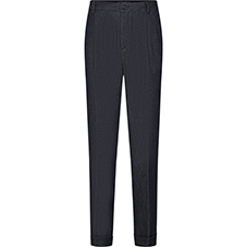 GREY SLIM FIT TROUSERS WITH SIDE POCKETS
