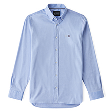 TOMMYXMERCEDES-BENZ STRETCH OXFORD SHIRT