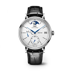 "PORTOFINO HAND WOUND MOON PHASE EDITION ""150 YEARS"""