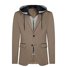FLEX HOODED BLAZER