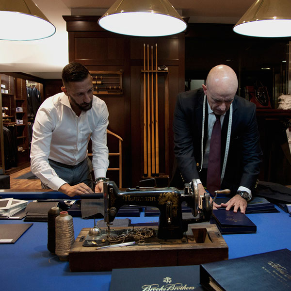 Brooks Brothers, Tailor Made