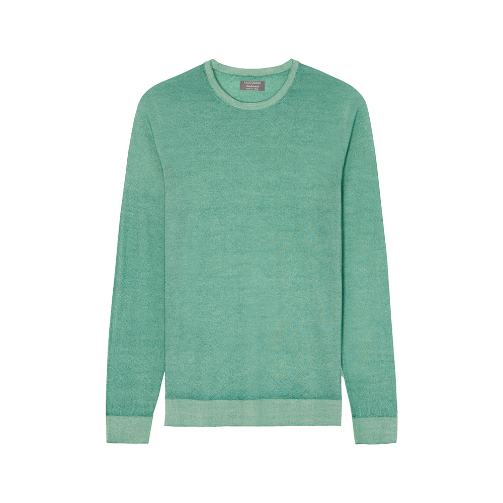 Ultra light cashmere sweater by Falconeri