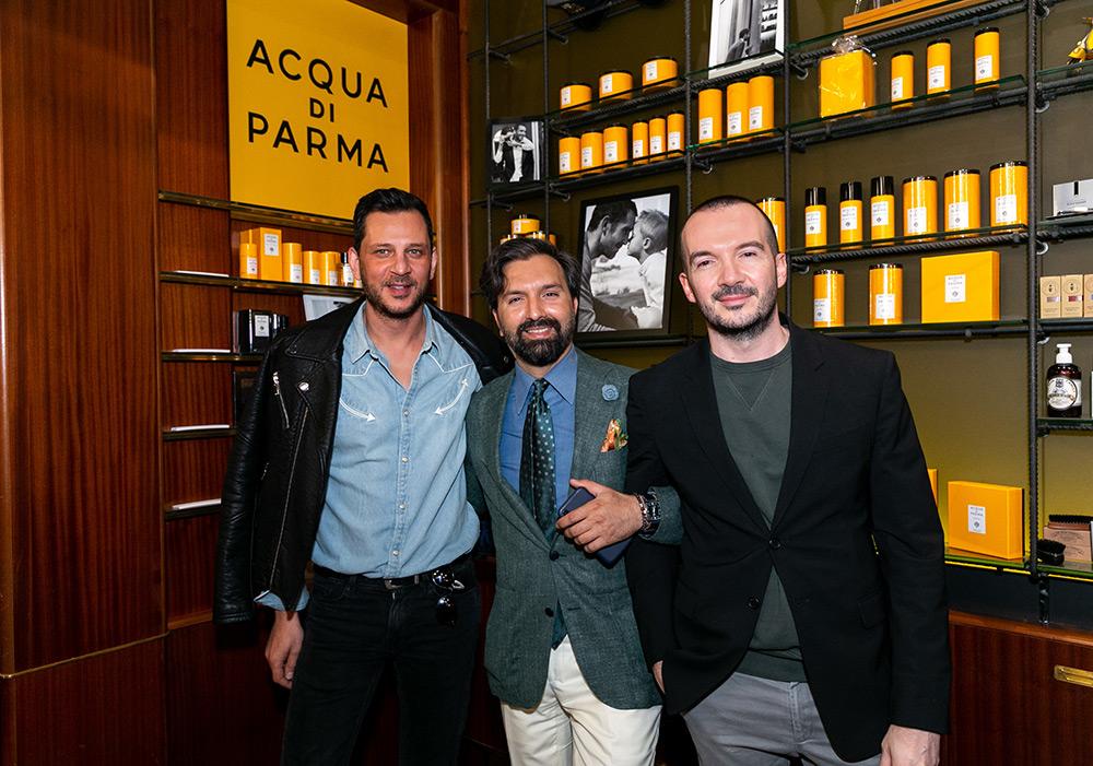 457301495c31 Την Τετάρτη 3 Απριλίου 2019 η Acqua di Parma παρουσίασε τη νέα σειρά  ανδρικής φροντίδας του ιστορικού ιταλικού οίκου