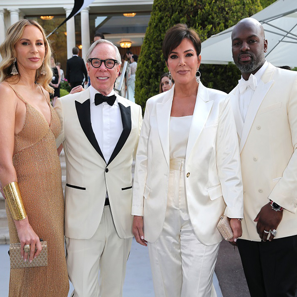 Celebrities Wearing Tommy Hilfiger at the amfAR Gala in Cannes
