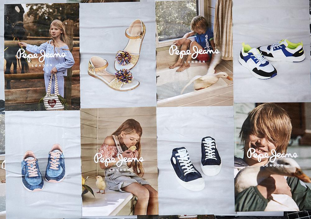 fb8bdeafb Τα αθλητικά σανδάλια είναι το new entry της γυναικείας συλλογής με κορυφαία  επιλογή το Νarita, μια χαμηλή πλατφόρμα με έντονη επιγραφή Pepe Jeans.