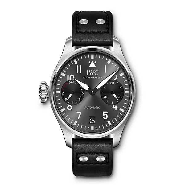 "NEW ""RIGHT-HANDER"" EDITION JOINS IWC'S BIG PILOT LINE"