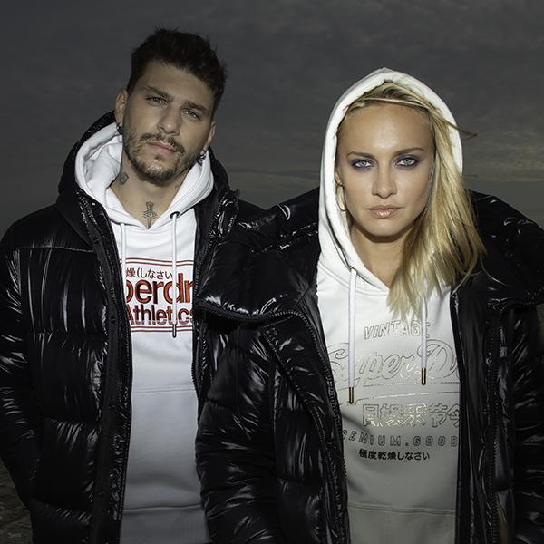 Ο Στέφανος Μηλάτος και η Νάντια Σερλίδου για την Superdry