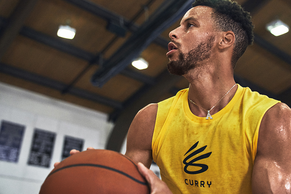 """UNDER ARMOUR's  """"THE CURRY BRAND"""" & CURRY Flow 8"""
